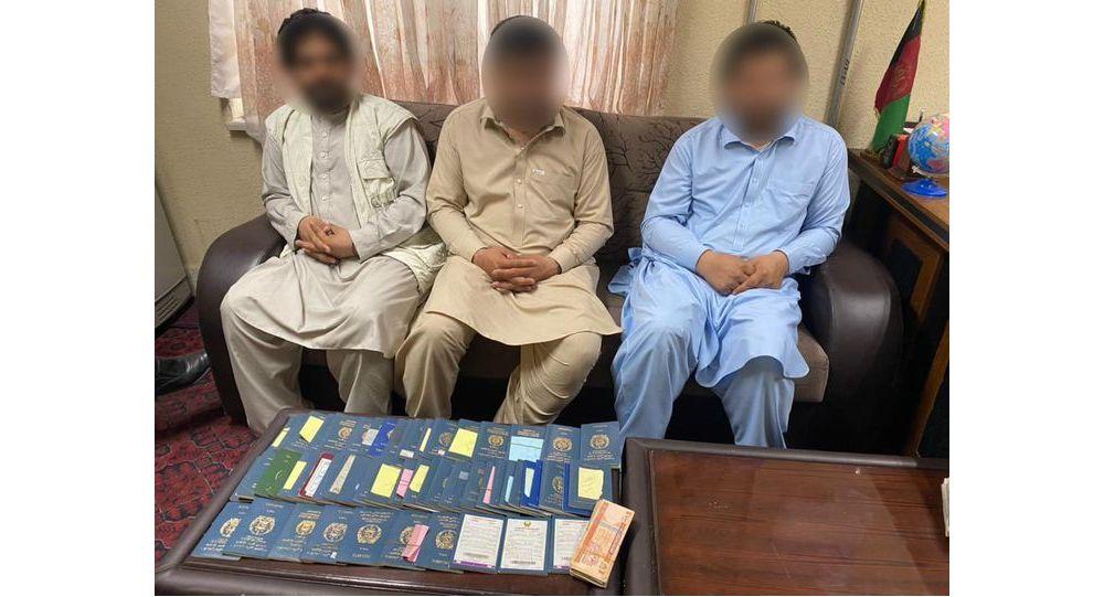 دستگیری سه تن به اتهام دریافت پول از مردم در بدل ویزه ای غیرقانونی پاکستان