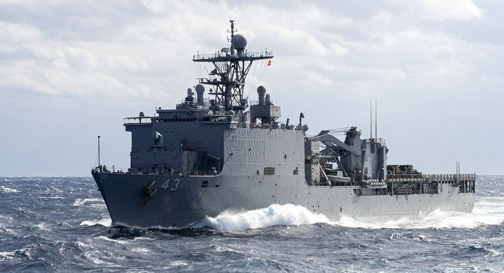 کشتیهای جنگی امریکا با دو هزار 500 تفنگدار وارد مدیترانه شدند