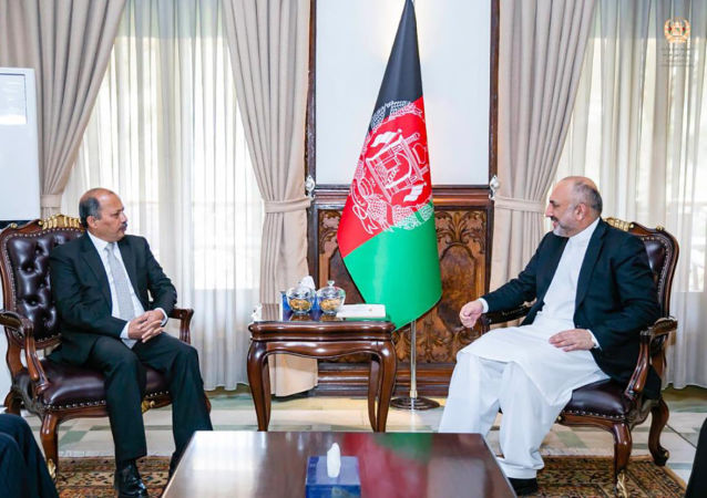 دیدار اتمر با سفیر پاکستان