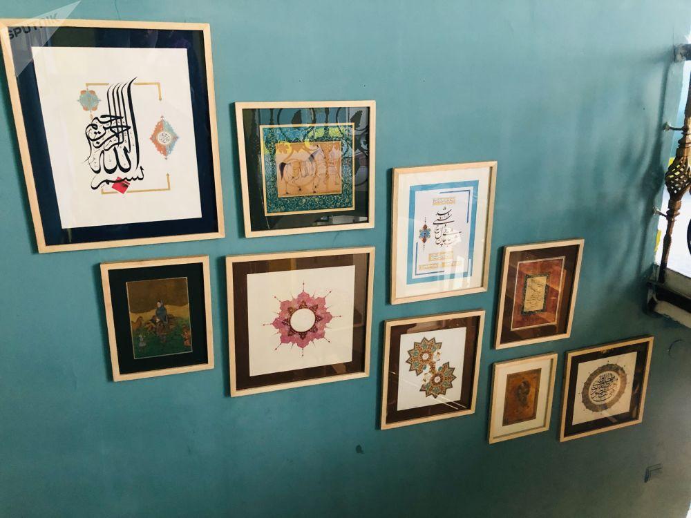 نمایشگاه هنر میناتوری در کابل
