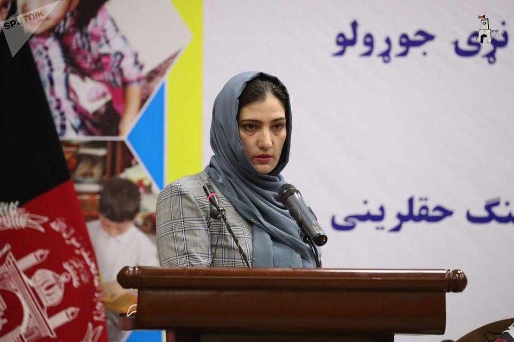 راضیه صیاد، عضو کمیسیون مستقل حقوق بشر افغانستان