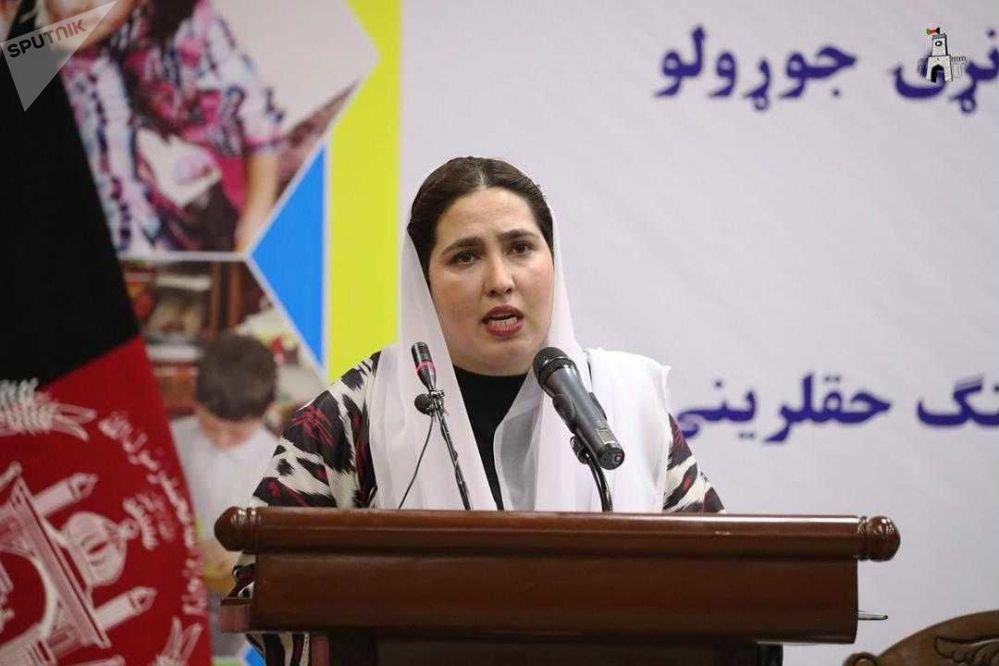 حوریه فیضی سردارزاده، رییس عمومی کودکستانهای افغانستان
