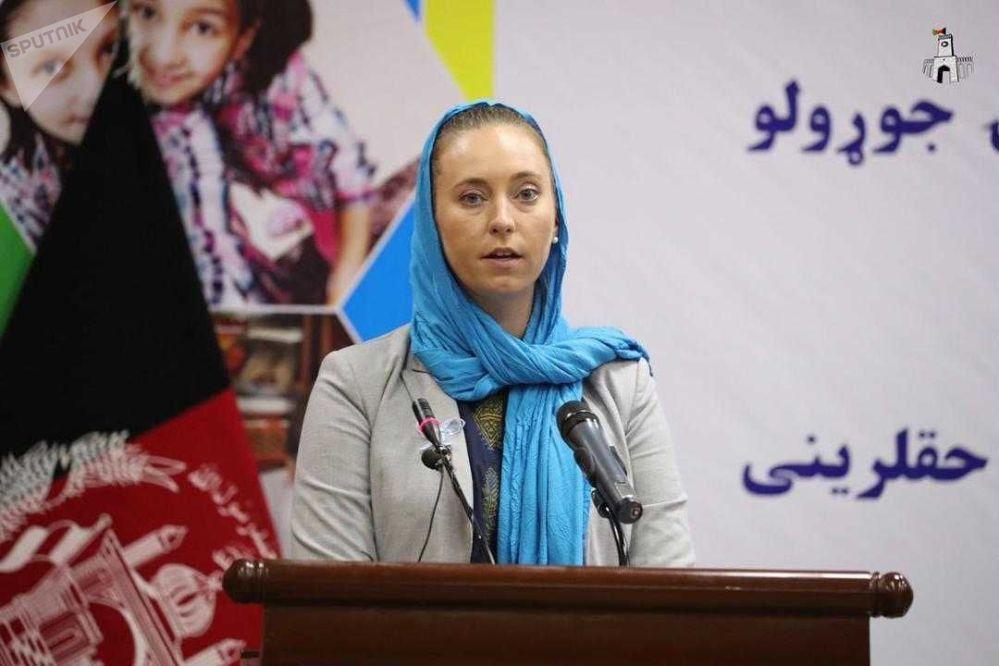 سوزان فرهمن، نماینده صندوق وجهی ملل متحد برای کودکان در افغانستان