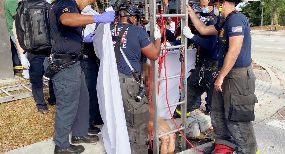 سه هفته سرگردانی در فاضلابها؛ زن امریکایی در زیرزمینی یک ایالت دیگر پیدا شد