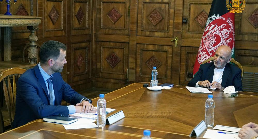رئیس جمهور غنی با نماینده خاص اتحادیه اروپا دیدار کرد