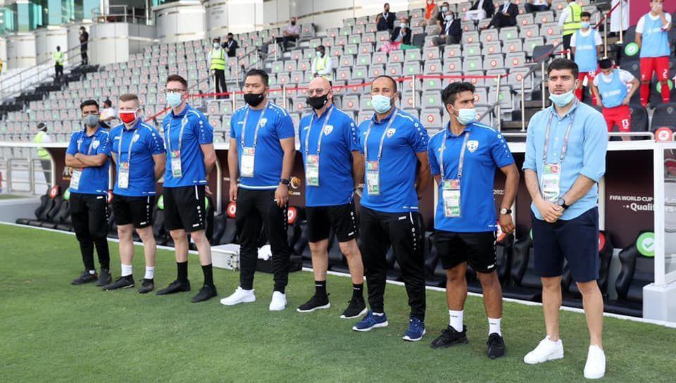کادرفنی تیم ملی فوتبال افغانستان