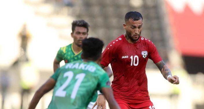 فیصل شایسته بازیکن تیم ملی افغانستان