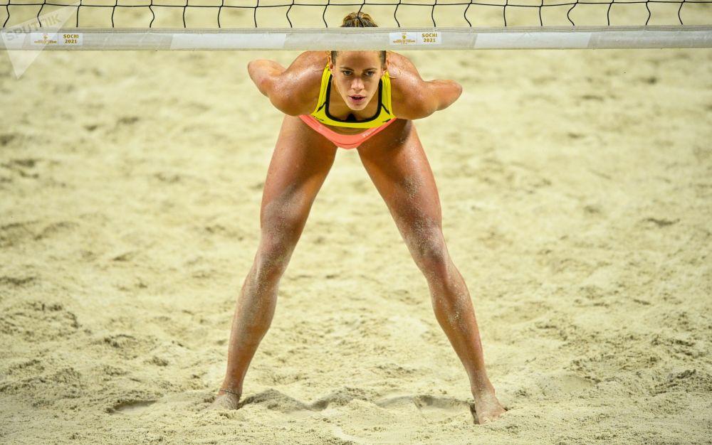 بازی های والیبال زنان در سوچی روسیه