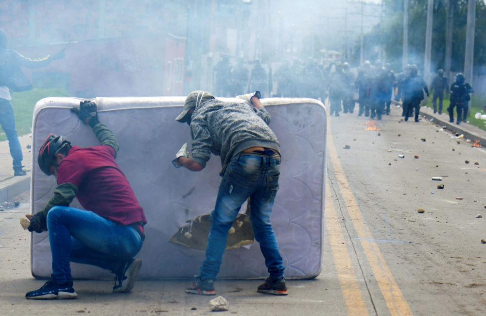 تظاهرات در کلمبیا