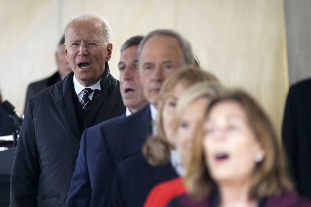 جو بایدن در روز گرامیداشت بازماندگان جنگی