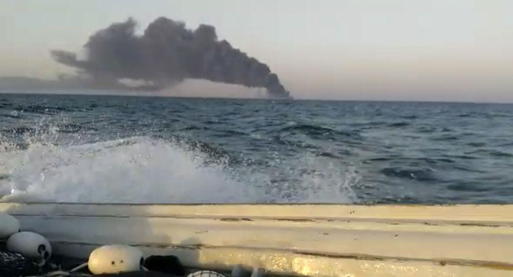 بروز حادثه برای یک کشتی در سواحل امارات