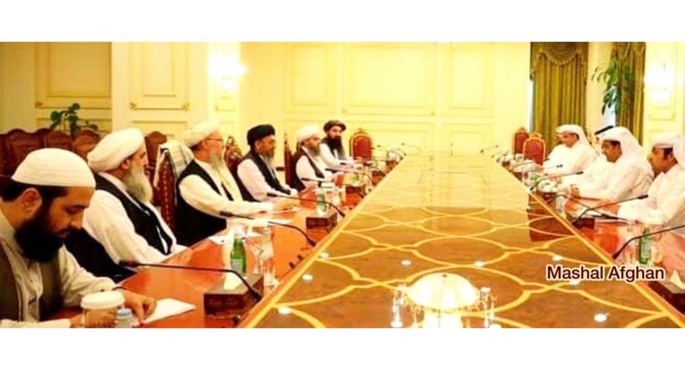 نماینده ویژه وزارت خارجه قطر با خلیلزاد و تیم مذاکره کننده طالبان دیدار کرد
