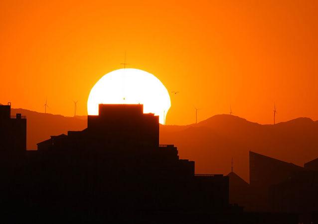 اولین خورشید گرفتگی سال 2021