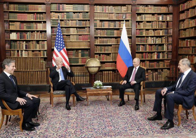 گفتگوی رئیسجمهور پوتین با بایدن در ژنو 4.5 ساعت طول کشید