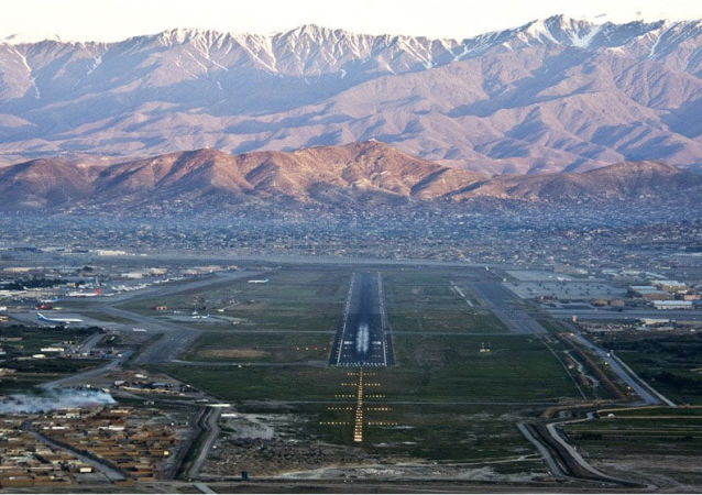 نصب سیستمهای ضدراکتی در میدان هوایی بینالمللی کابل