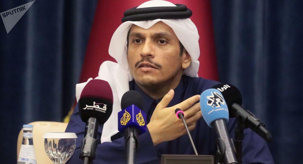 اقدامات اخیر طالبان با تاسف وزیر خارجه قطر شد
