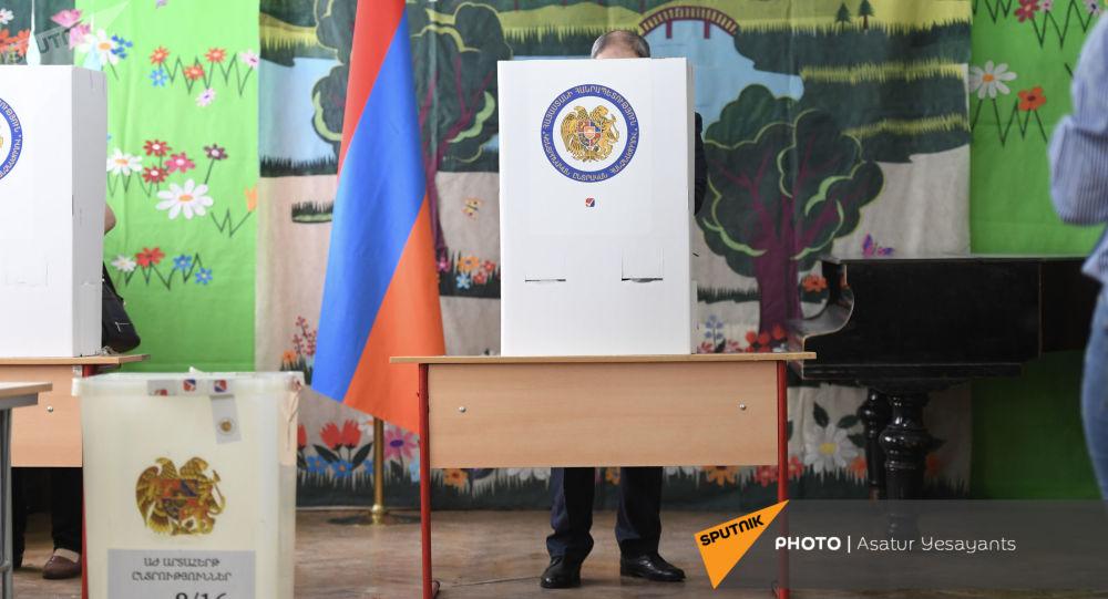 شمارش آرا انتخابات پارلمانی ارمنستان پایان یافت