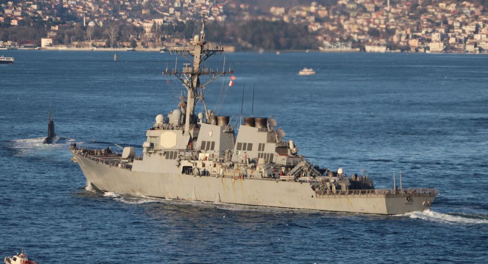 ناوشکن امریکایی USS Ross وارد دریای سیاه می شود