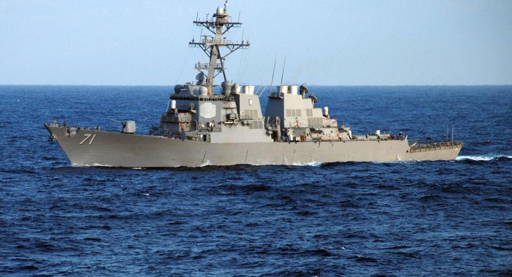 کشتی جنگی امریکا وارد دریای سیاه شد