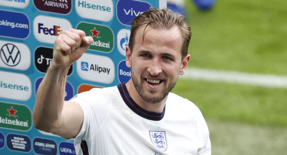 Soccer Football - Euro 2020 - Round of 16 - England v Germany - Wembley Stadium, London, Britain - June 29, 2021 England's Harry Kane celebrates after the match