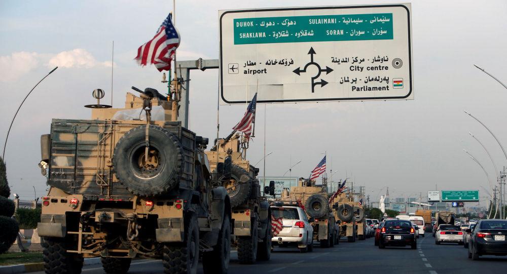 یورش بر کاروان امریکایی در شهر «حله» عراق