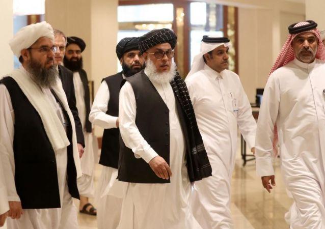 ملاقات طالبان با امریکا در دوحه