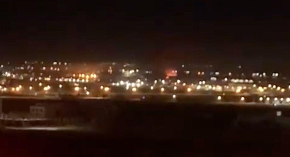 حمله هواپیمای بدون سرنشین به فرودگاه اربیل در شمال عراق