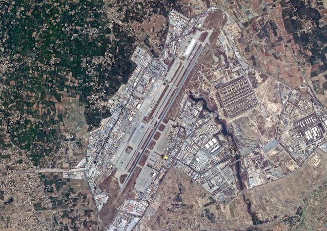 فیلمبرداری ماهواره روسی از پایگاه هوایی بگرام افغانستان