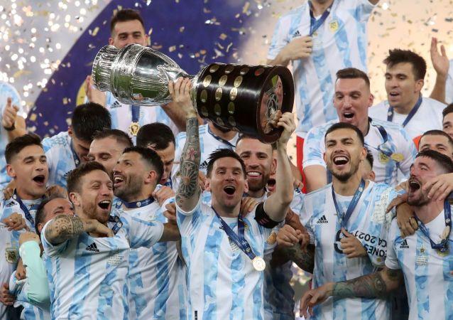 قهرمانی آرجنتین