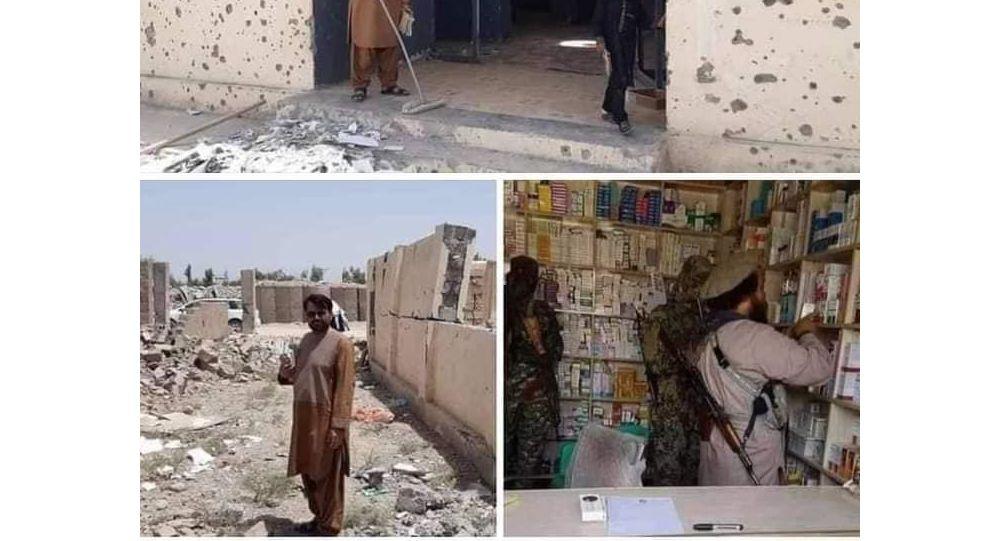وزارت دفاع: طالبان در هلمند شفاخانهرا با بمب منفجر ساختن