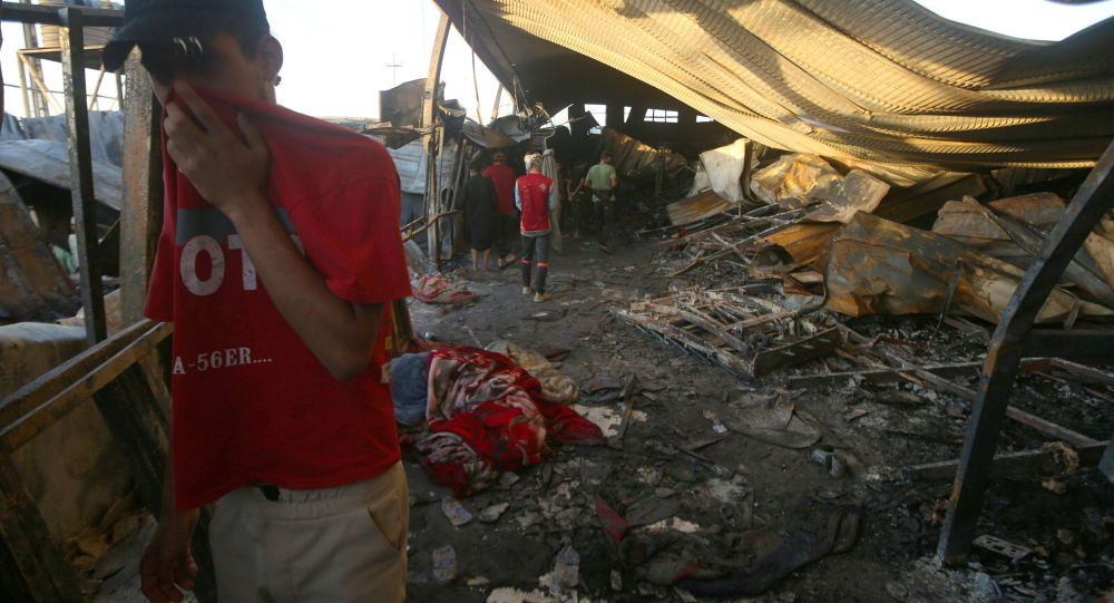 آتش سوزی در بیمارستان کرونایی عراق ده ها کشته برجای گذاشت