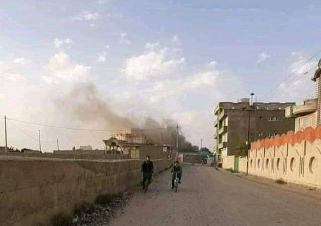 به آتش کشیده شدن یک مکتب دخترانه در غزنی از سوی طالبان