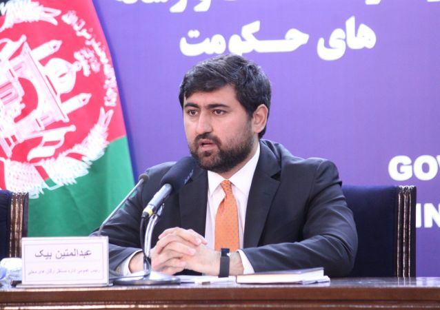 متین بیک بحیث رئیس عمومی دفتر مقام عالی ریاست جمهوری تعیین شد