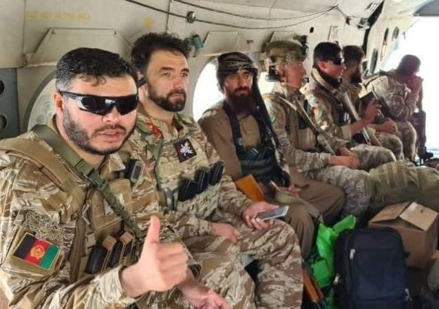 نیروهای قطعه خاص برای جنگ با طالبان به غزنی رسیدند