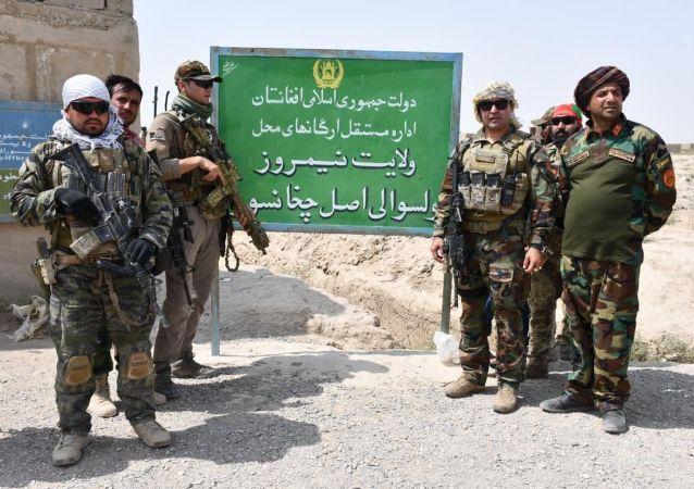 ولسوالی چخانسوری نیمروز از تصرف طالبان آزاد شد