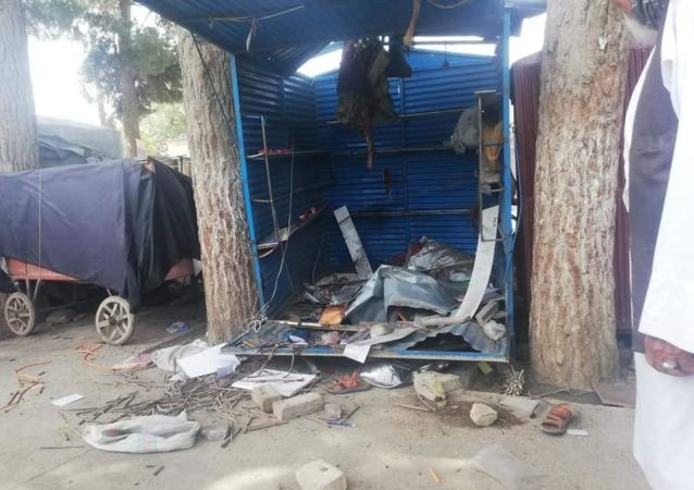 انفجار دو ماین در شهر ایبک
