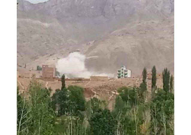 ساختمان ولسوالی مالستان ازسوی طالبان ازبین برده شد