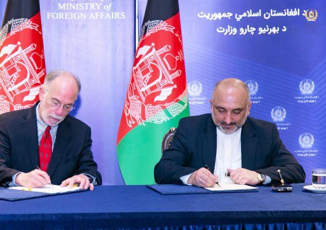 قرارداد واگذاری الحاقیه سفارت امریکا در کابل امضا شد