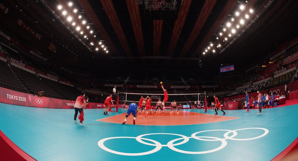 تیم والیبال المپیک روسیه