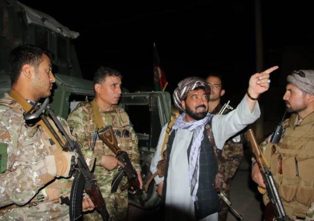 کشته شدن قاری گل عضو کلیدی گروه طالبان در فاریاب