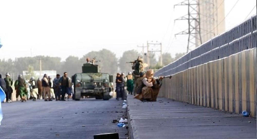 حملات گسترده طالبان بر شهر هرات