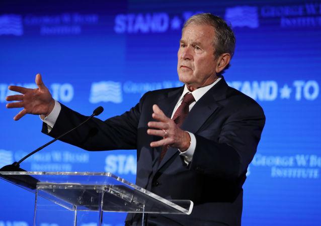 ستون نویس الجزیره خطاب به جرج بوش؛ دهانت را ببند و گم شو