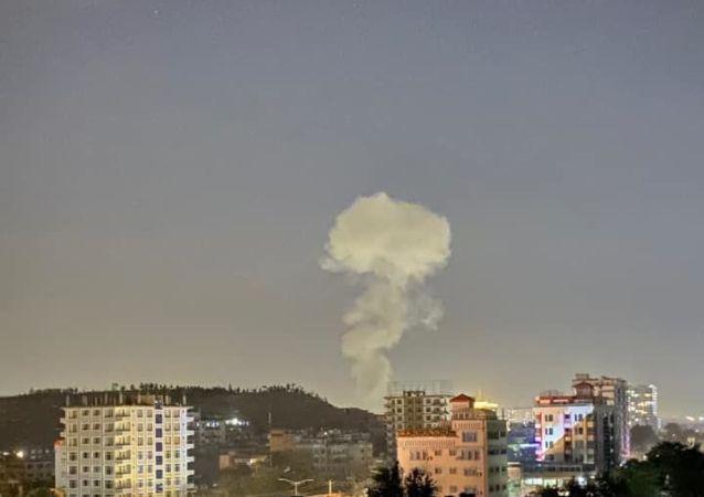 تیراندازی و وقوع انفجار در شمال کابل