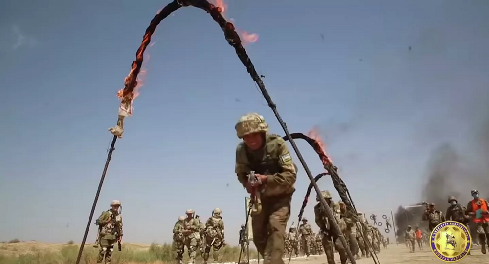 آغاز تمرینات مشترک نظامی روسیه در نزدیکی مرز با افغانستان
