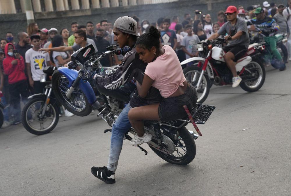 بهترین عکس های این هفته اسپوتنیک/نمایشگاه موترسایکل  در ونزوئلا