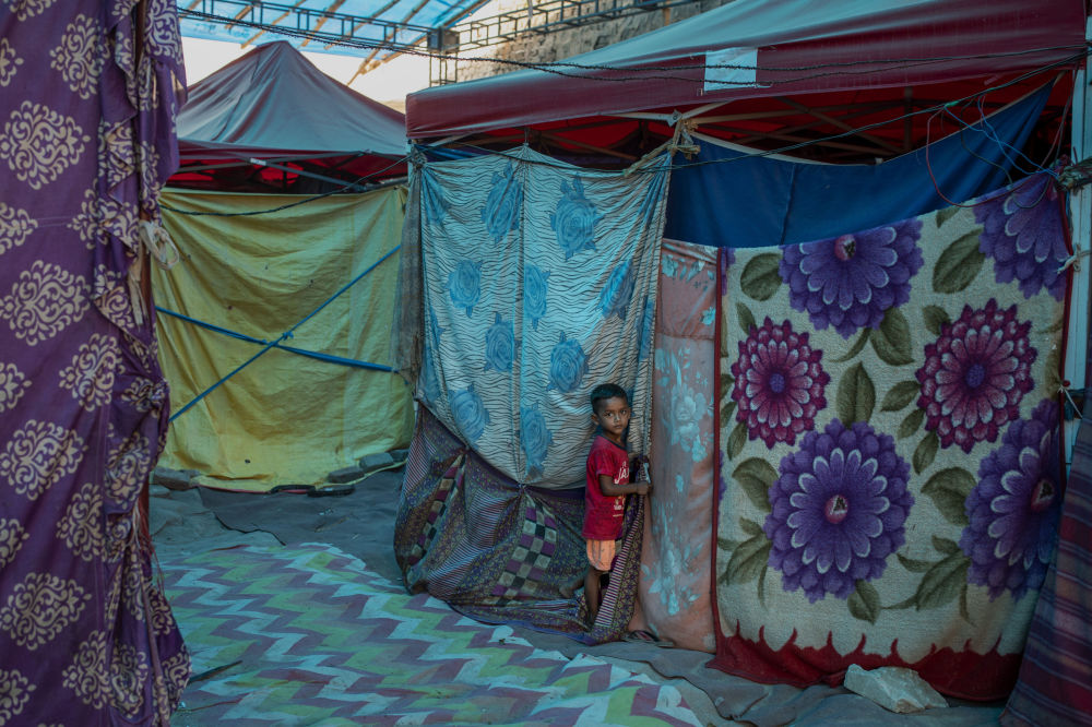 بهترین عکس های این هفته اسپوتنیک/کمپ پناهندگان در هند