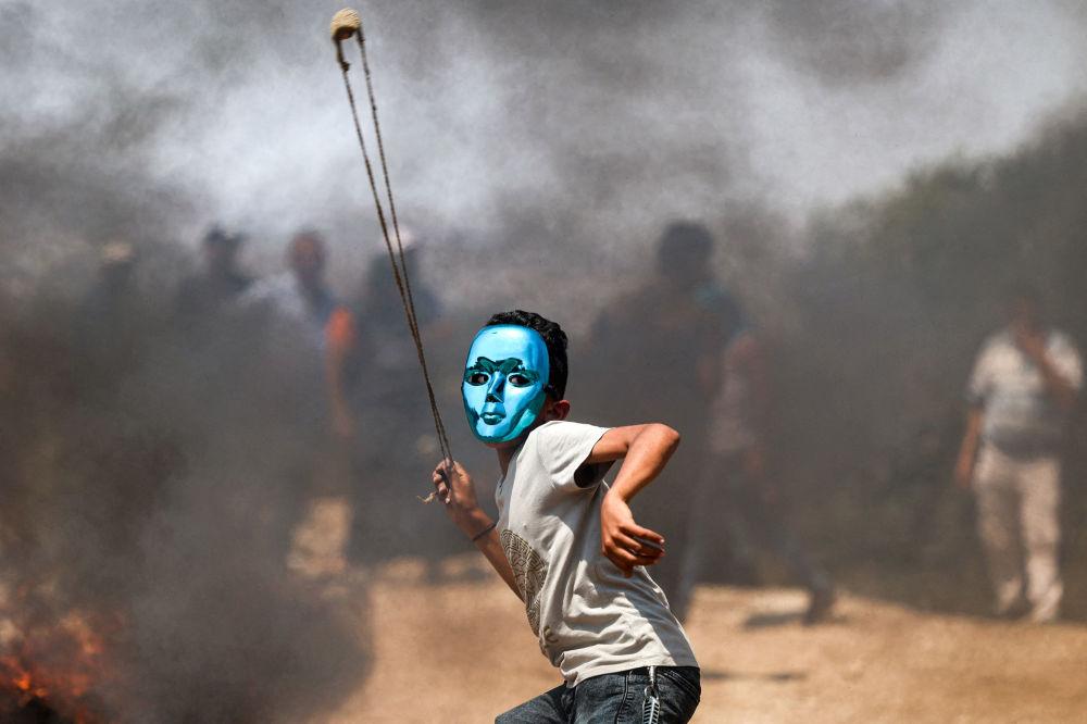 بهترین عکس های این هفته اسپوتنیک/اعتراضات در فلسطین