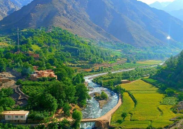 کوتل آستانه کلان ولسوالی آبشار ولایت پنجشیر