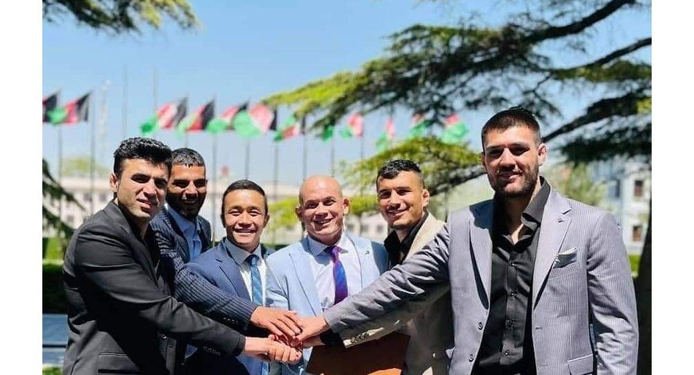 ورزشکاران مبارزات آزاد افغانستان