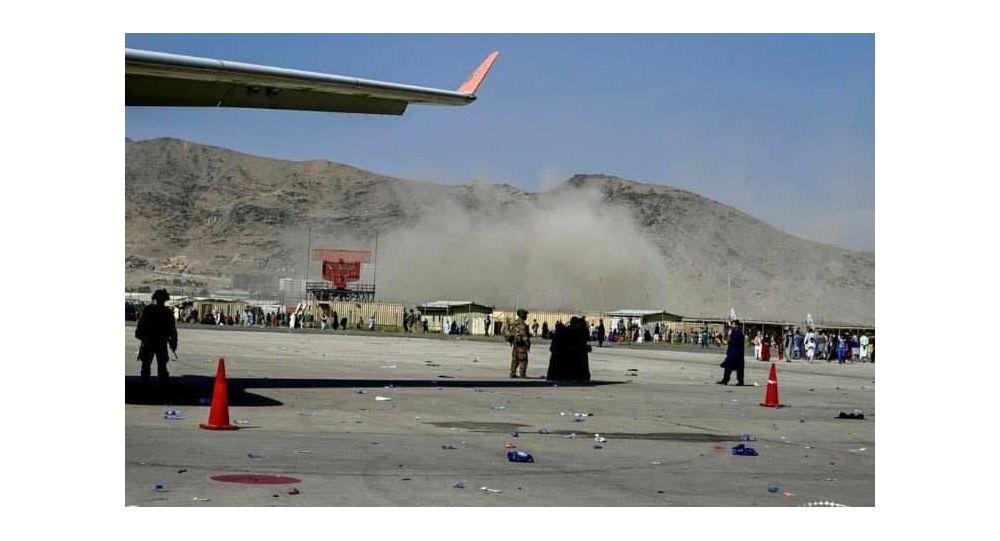 واکنش طالبان به انفجار در میدان هوایی کابل